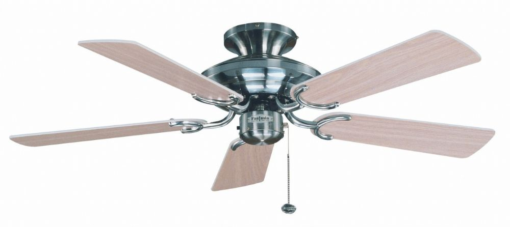 Fantasia Mayfair 42 Stainless Steel Ceiling Fan 110866